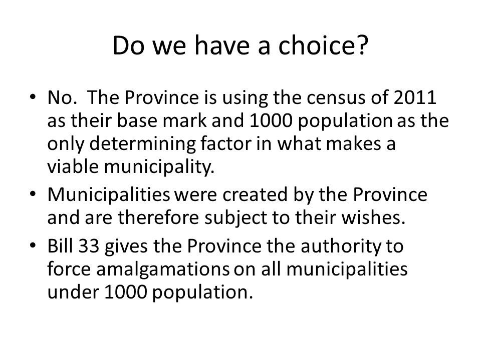 Was the RM of Glenella not already a viable municipality.