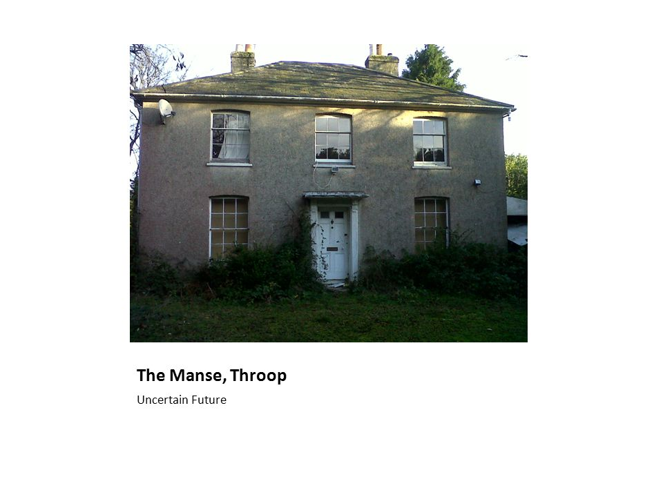 The Manse, Throop Uncertain Future