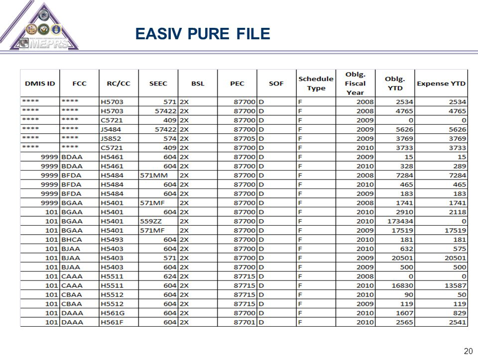 20 EASIV PURE FILE