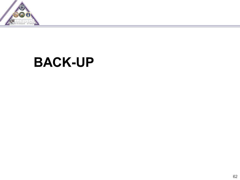 BACK-UP 62