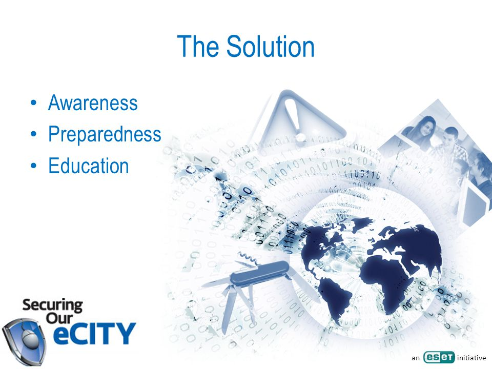 an initiative The Solution Awareness Preparedness Education