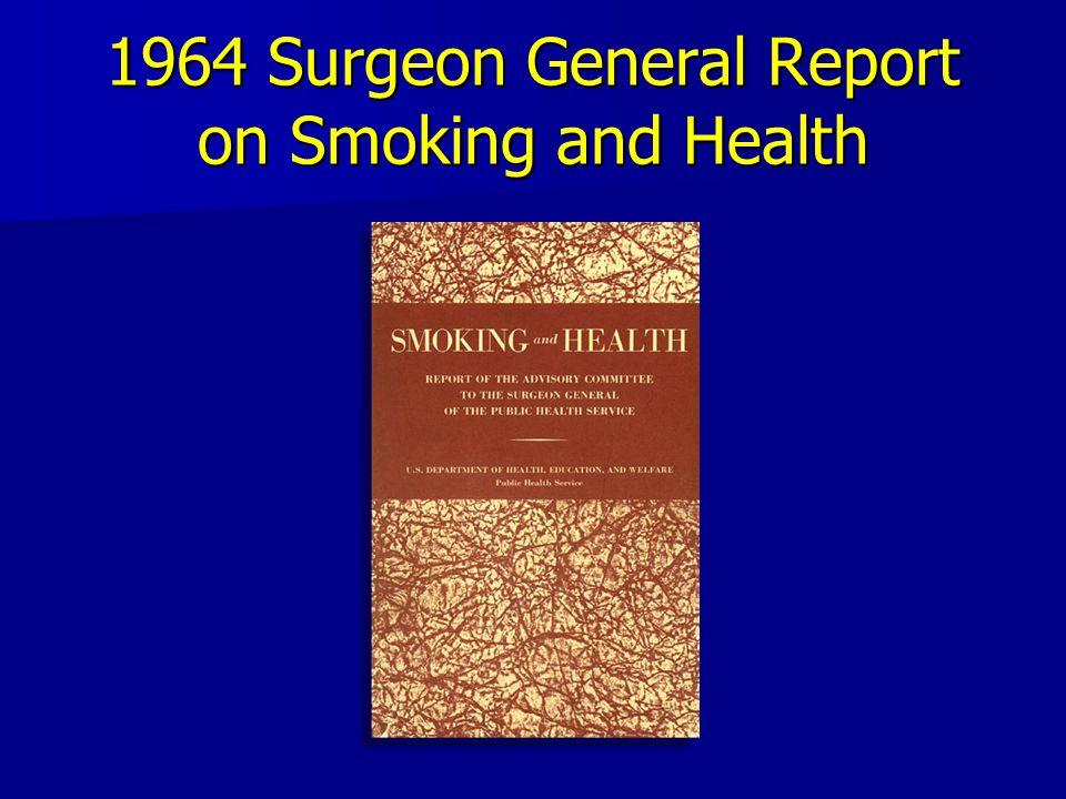 50 Years of Tobacco Control JAMA