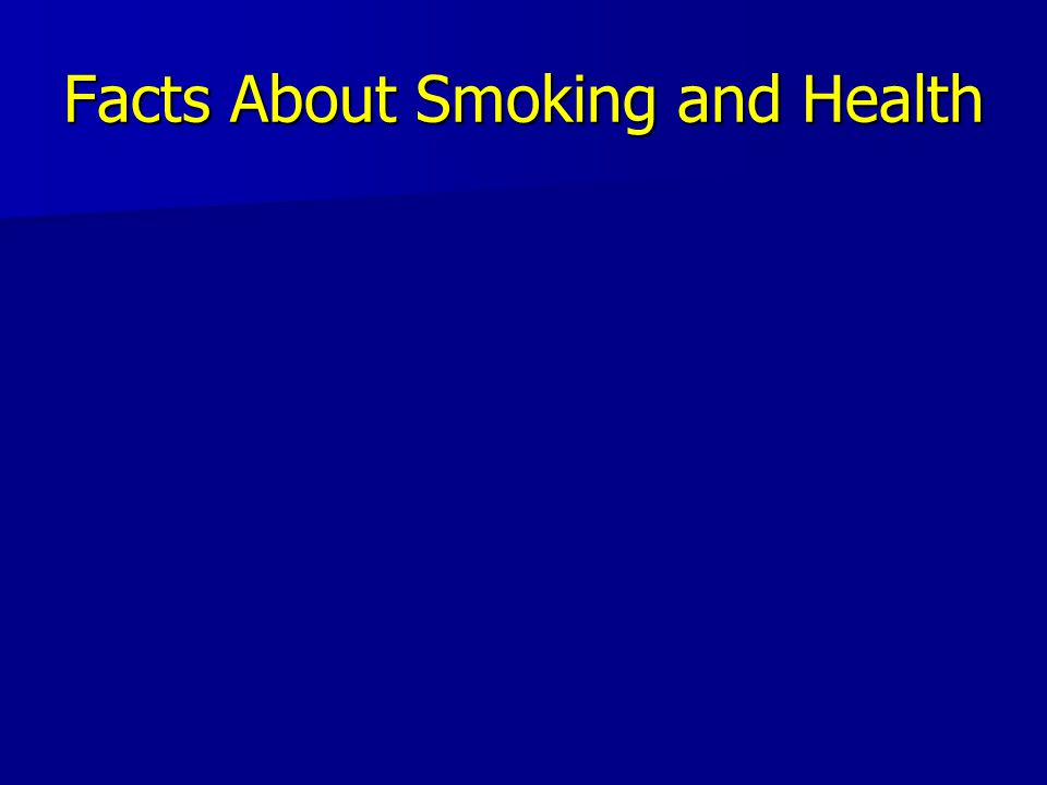 Tobacco's Deadly Toll 480,000 deaths in the U.S.each year 480,000 deaths in the U.S.