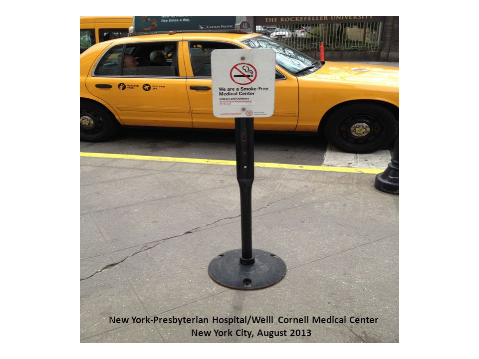 New York-Presbyterian Hospital/Weill Cornell Medical Center New York City, August 2013