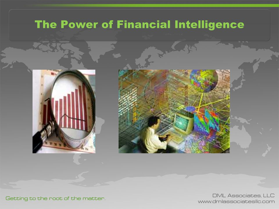 The Power of Financial Intelligence