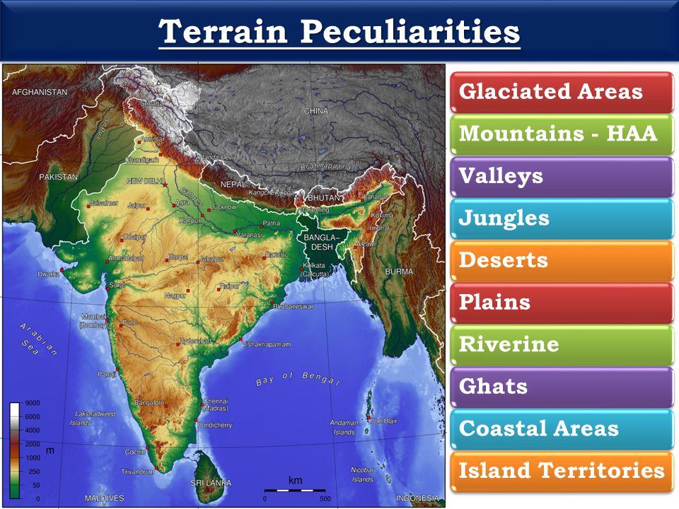 Terrain Peculiarities