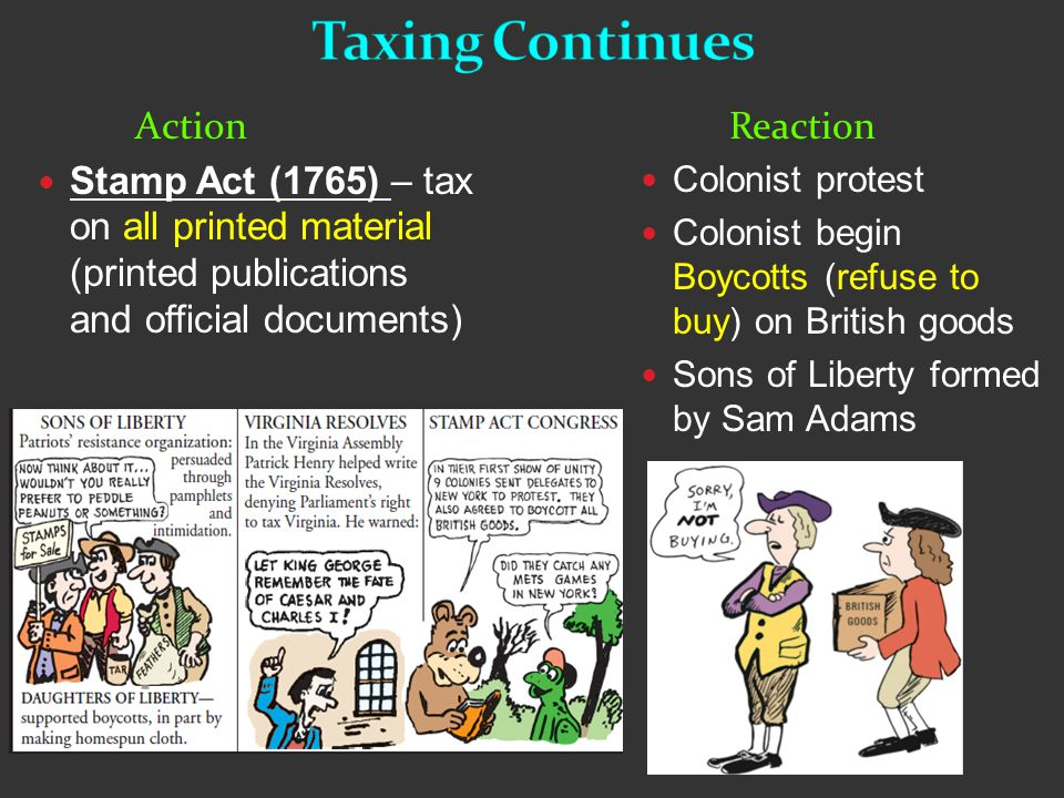 Quartering Act (1765)- Required the colonists to quarter (house and feed) British troops in America.