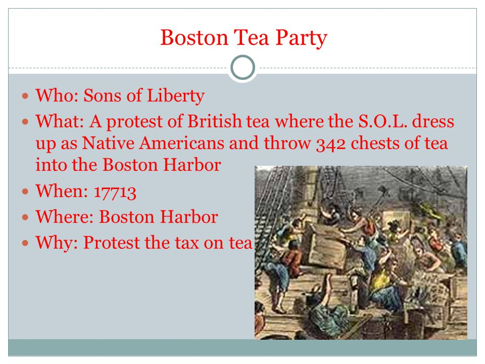 14 THE INTOLERABLE ACTS Close Boston Harbor Dismiss colonial legislatures Quarter more troops in homes