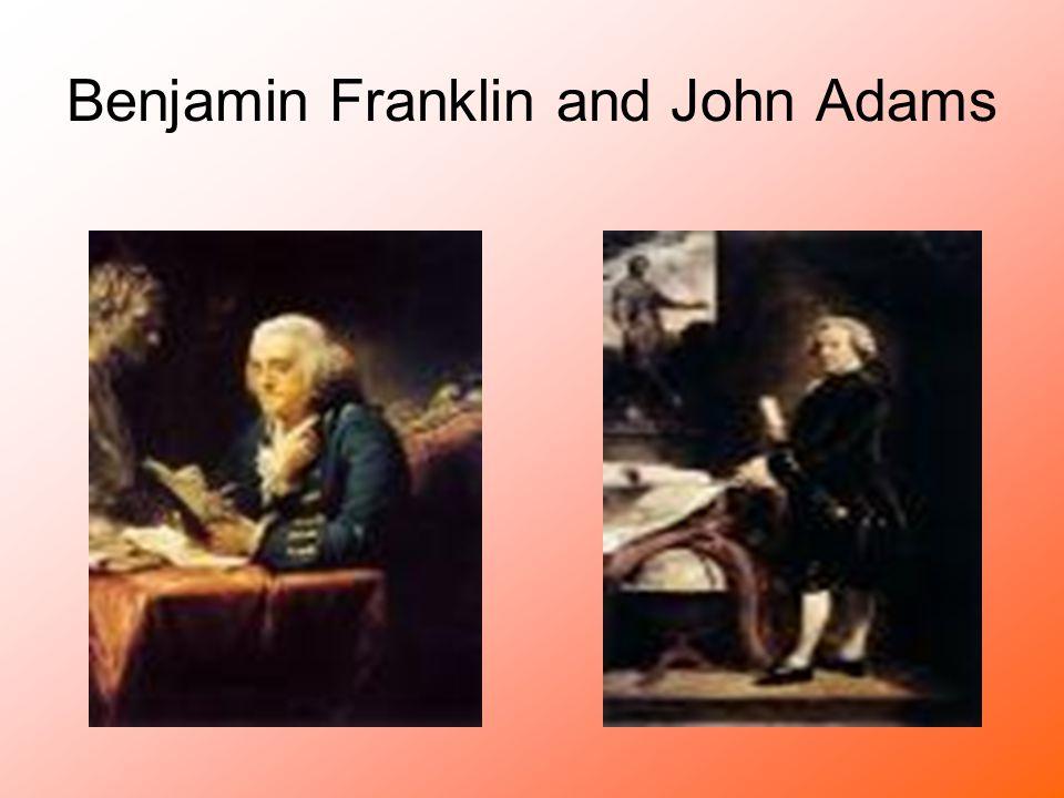 Benjamin Franklin and John Adams