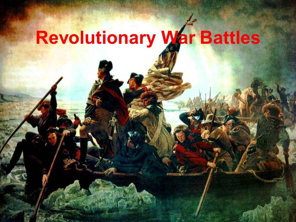 Revolutionary War Battles