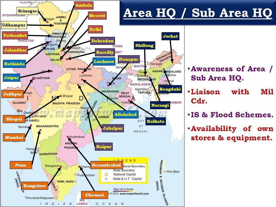 Udhampur Srinagar Pathankot Jalandhar Ambala Meerut Delhi Bathinda Jaipur Lucknow Allahabad Bareilly Dehradun Raipur Jabalpur Danapur Mumbai Pune Bhop