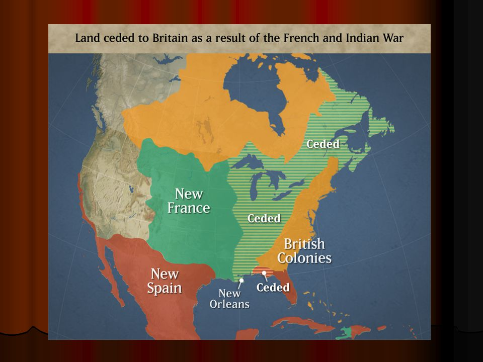 Result of the war. I. Objectives #1 A. The French & Indian War A.