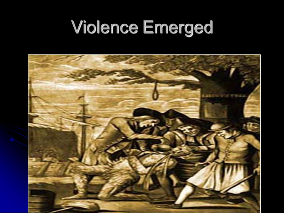 Violence Emerged