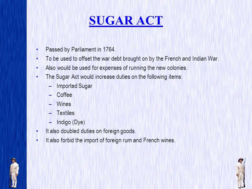 THE TEA ACT Went into effect on May 10, 1773.A 3 penny per pound import tax on tax was imposed.