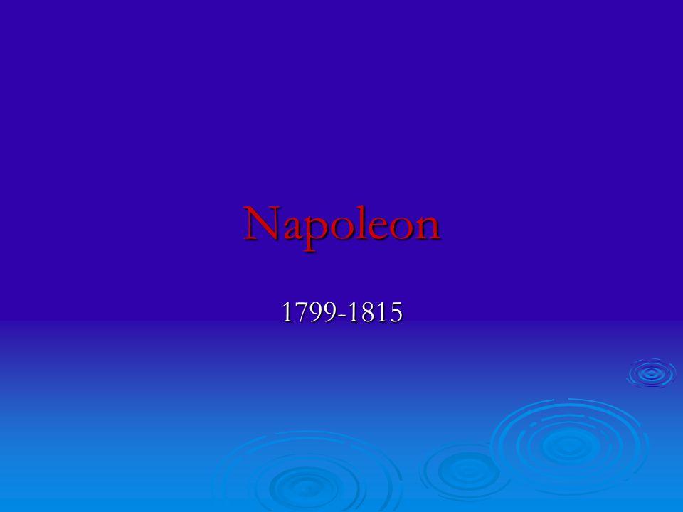 Napoleon 1799-1815