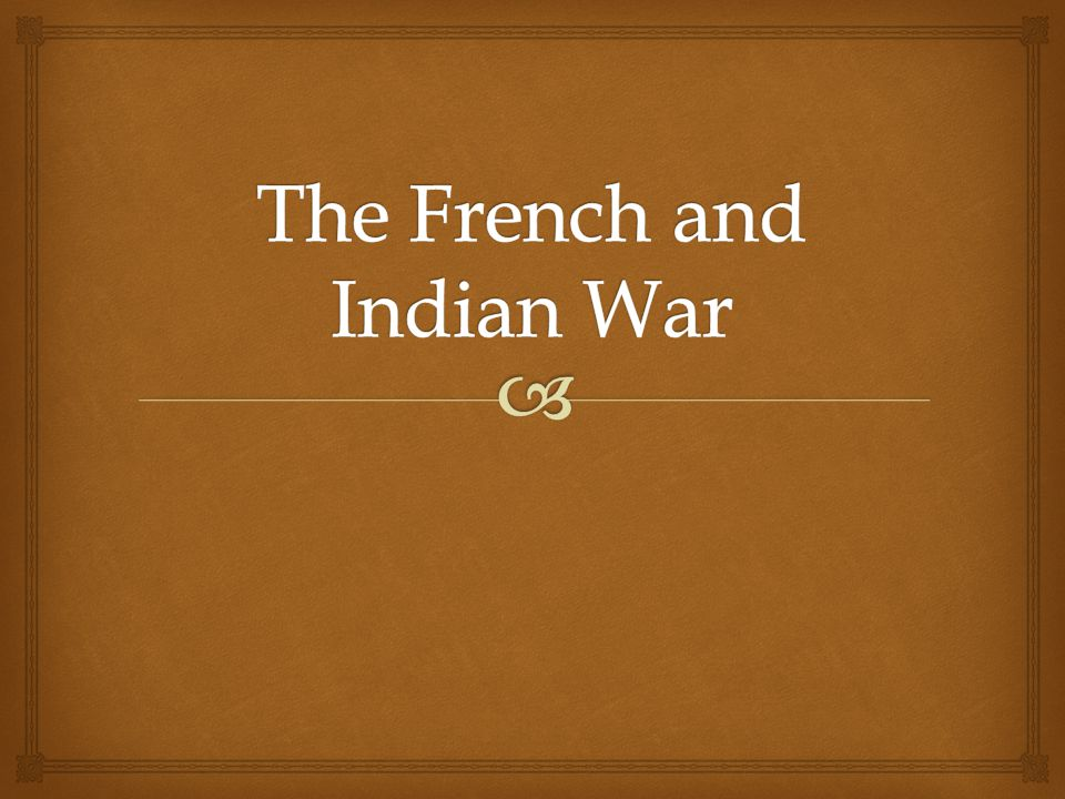   While the English (British) settled in Jamestown, the French setup their first settlement along the Mississippi Valley and what is now Canada.