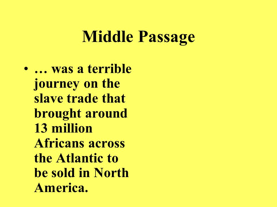 Triangular Trade …was the trade between the North American colonies, Africa, and Britain.