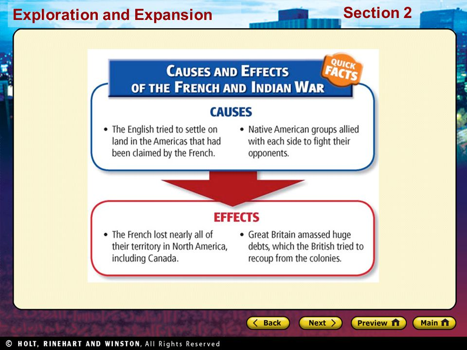Exploration and Expansion Section 2