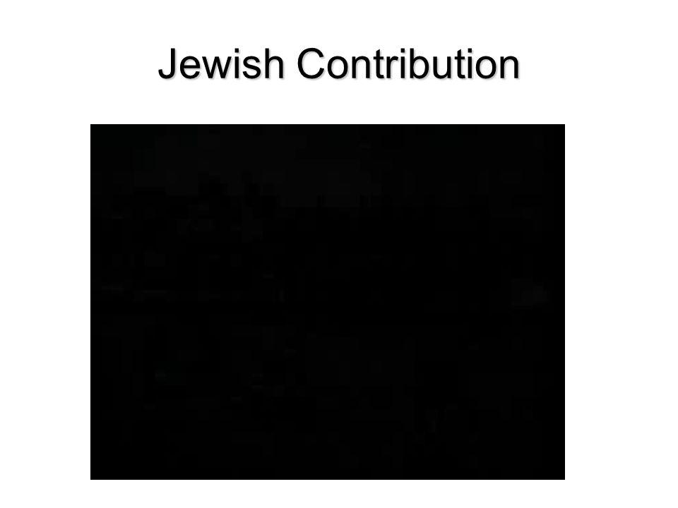 Jewish Contribution