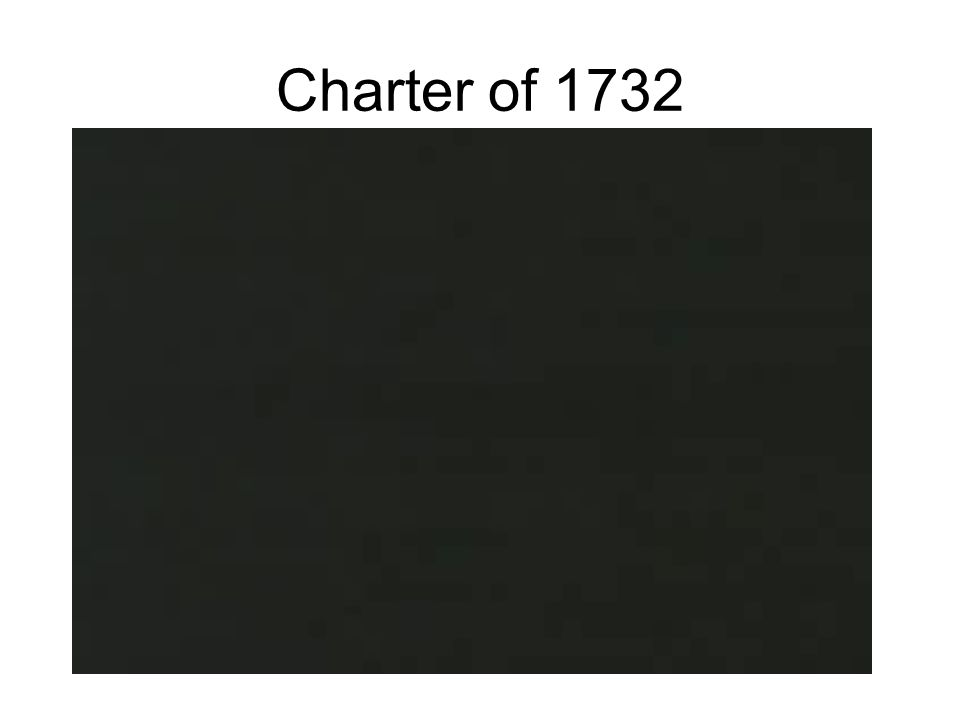 Charter of 1732
