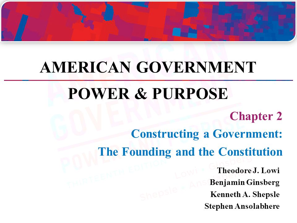 Expanding and Limiting the Power of Government