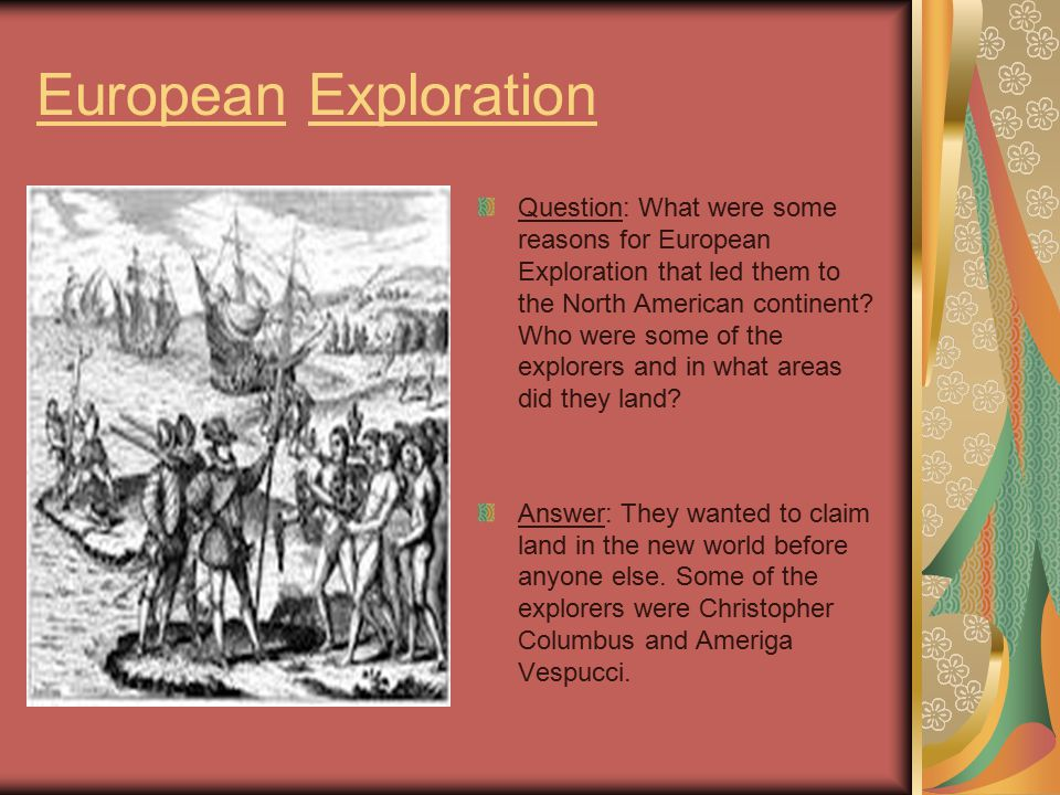 European Impact Question: What impact did the establishment of Colonies by Europe in North America have on the Native American people who had already lived there.