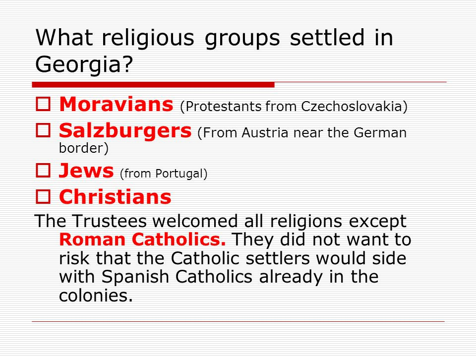 Why did the Trustees found the colony of Georgia.