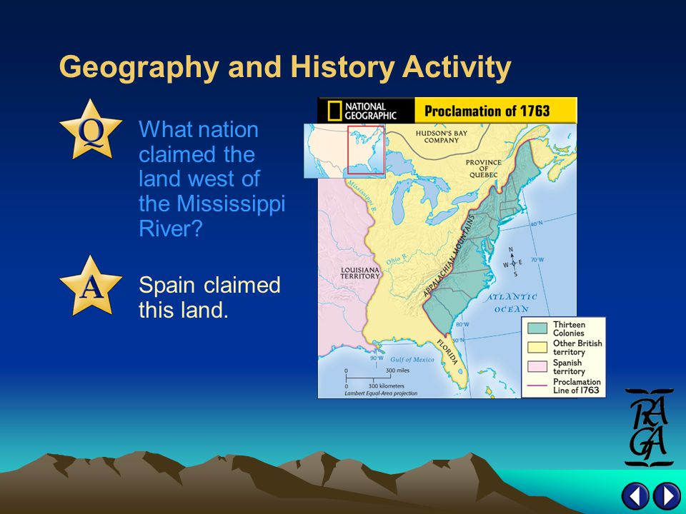Geography and History Activity Spain claimed this land.