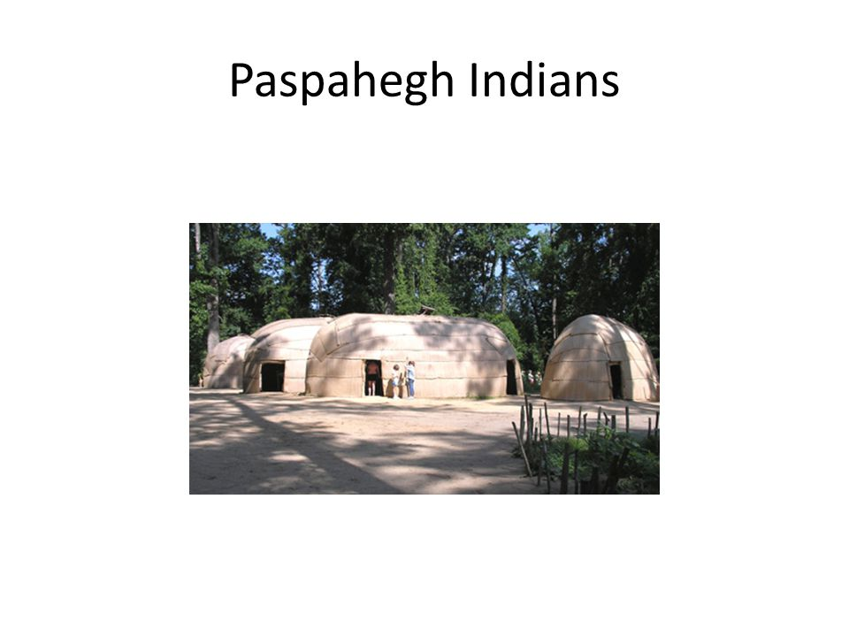 Paspahegh Indians