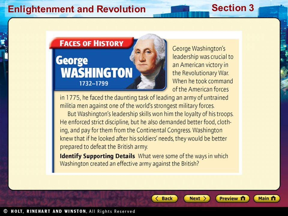 Section 3 Enlightenment and Revolution Compare What did the Stamp Act and the Townshend Acts have in common.