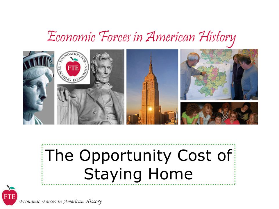 The Opportunity Cost of Staying Home