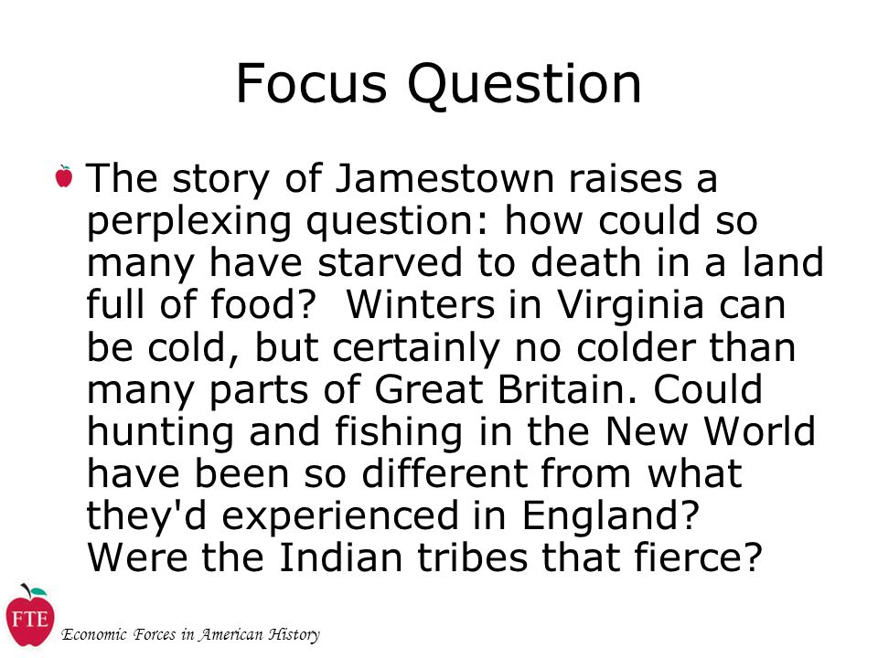 Economic Forces in American History Round 3