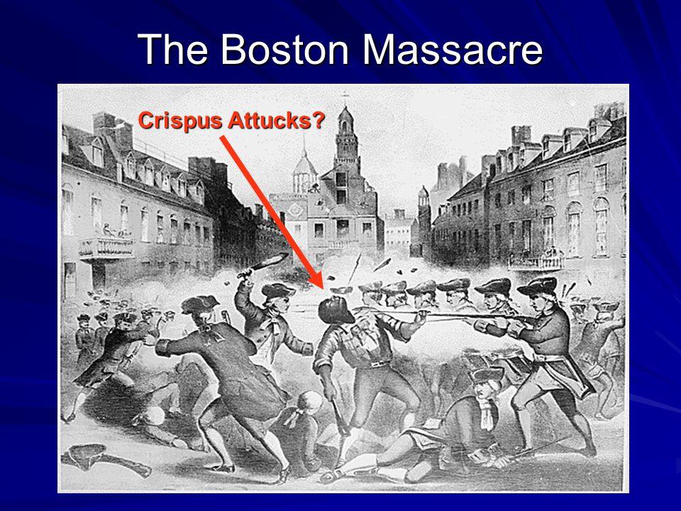 The Boston Massacre Crispus Attucks?