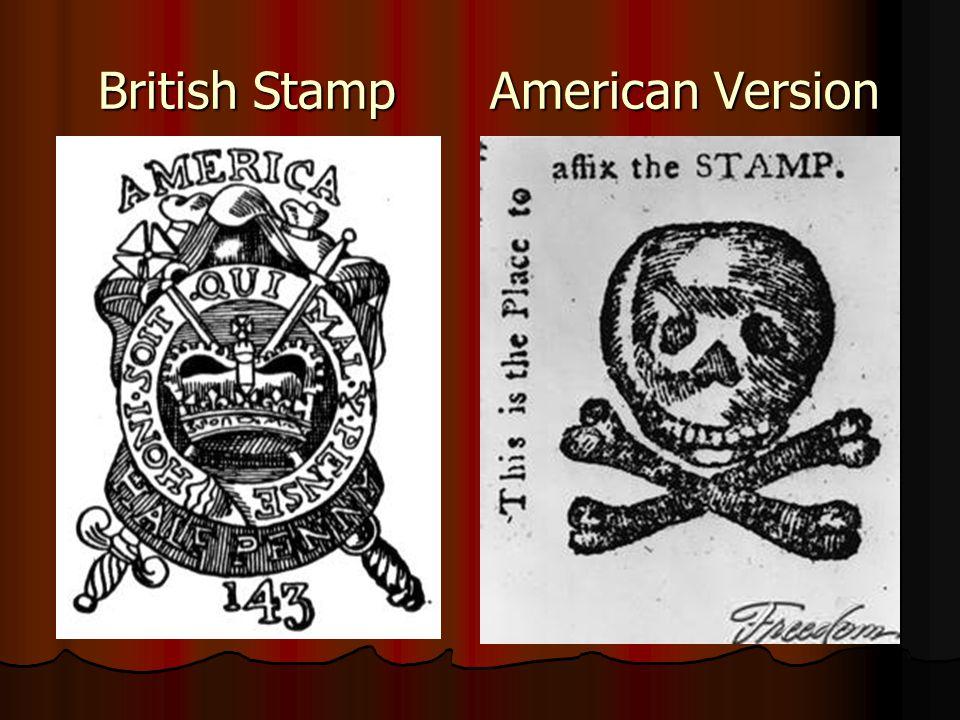 British Stamp American Version British Stamp American Version
