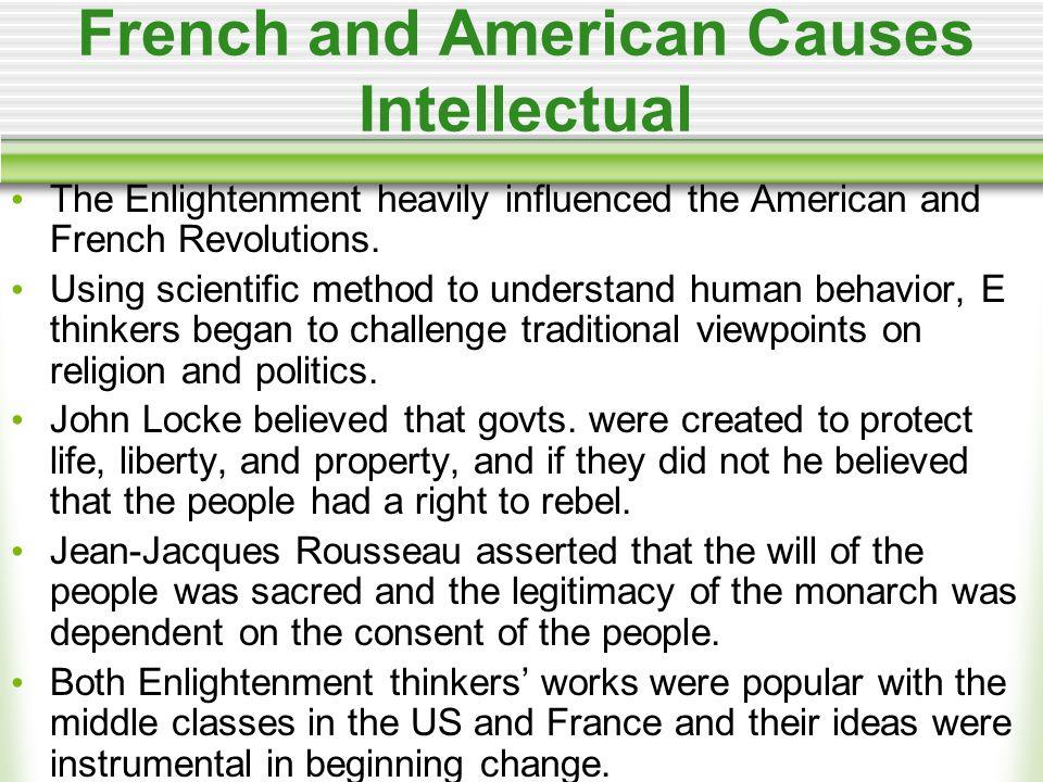 American Causes - Economic The British govt.