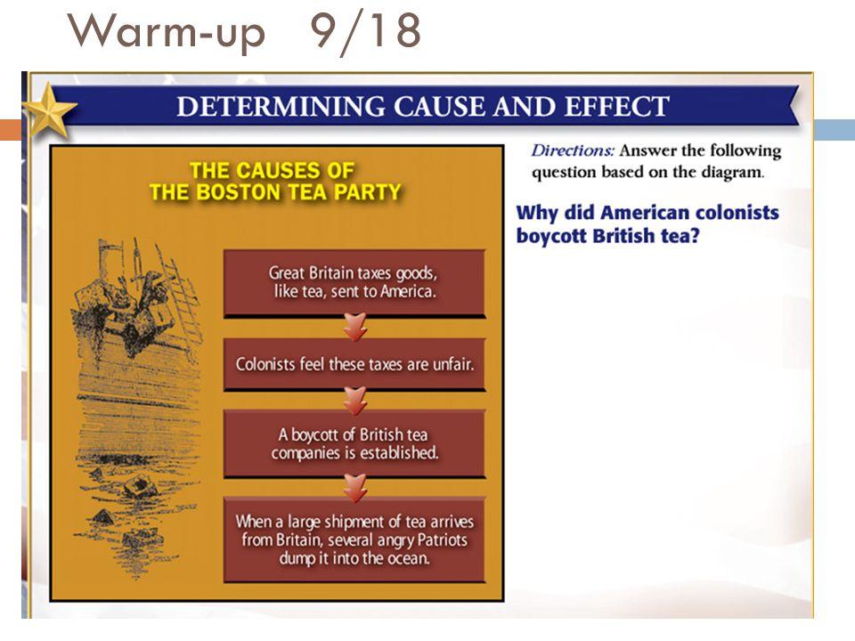 Warm-up 9/18