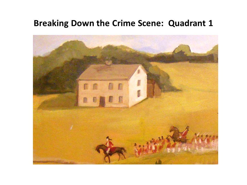 Breaking Down the Crime Scene: Quadrant 2