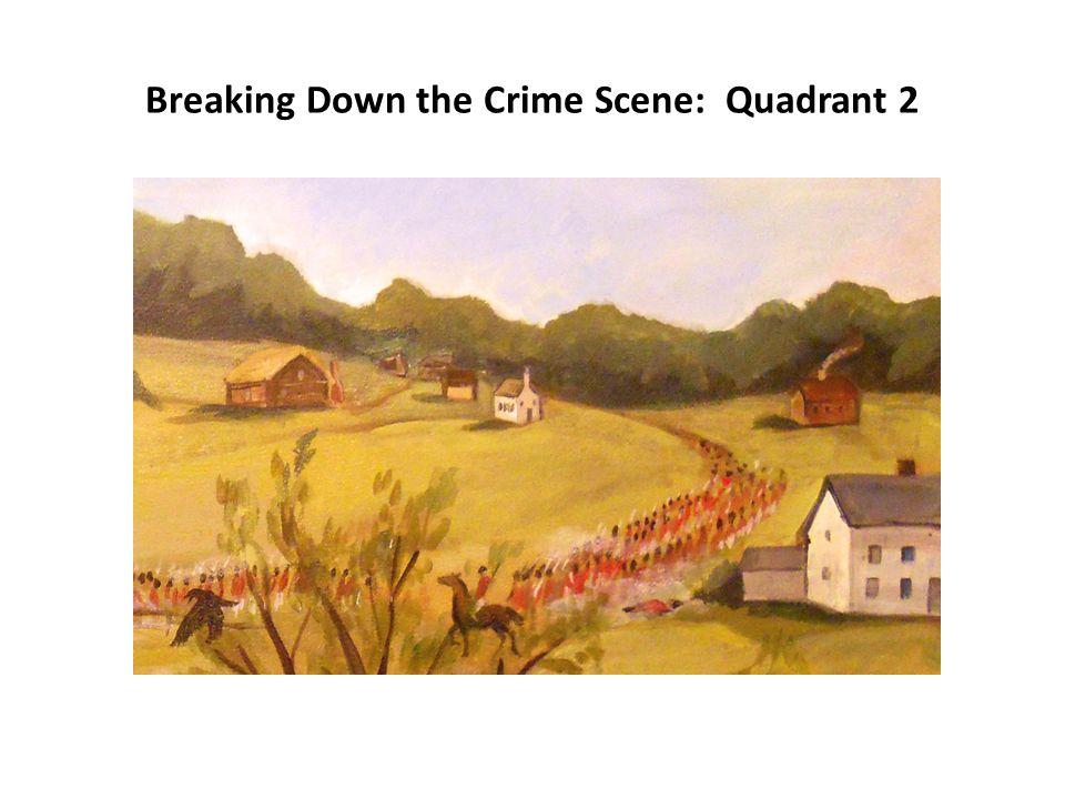 Breaking Down the Crime Scene: Quadrant 3