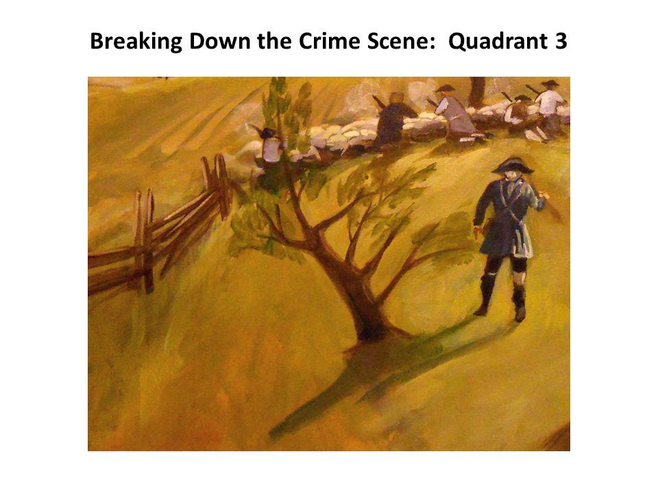 Breaking Down the Crime Scene: Quadrant 4