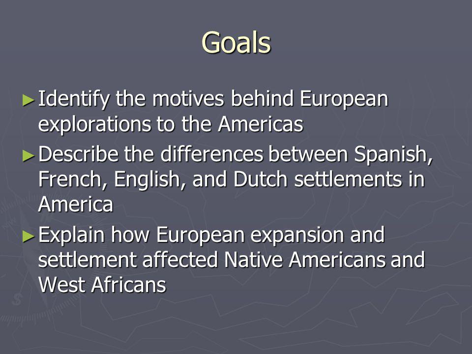 Word Wall Words ► Priests ► Trapper ► Mission ► Presidio ► Pueblo ► Colony ► Conquistador ► Slavery ► Plantation ► Columbian Exchange ► New World ► Explorers