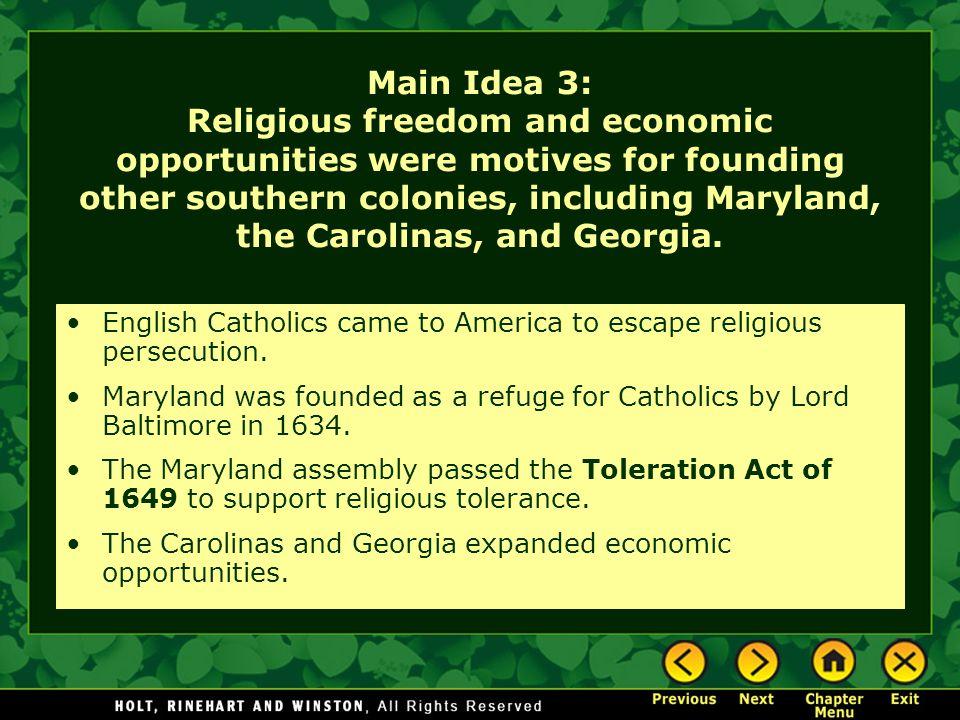 The Carolinas and Georgia The Carolinas Carolina was founded south of Virginia in 1663.