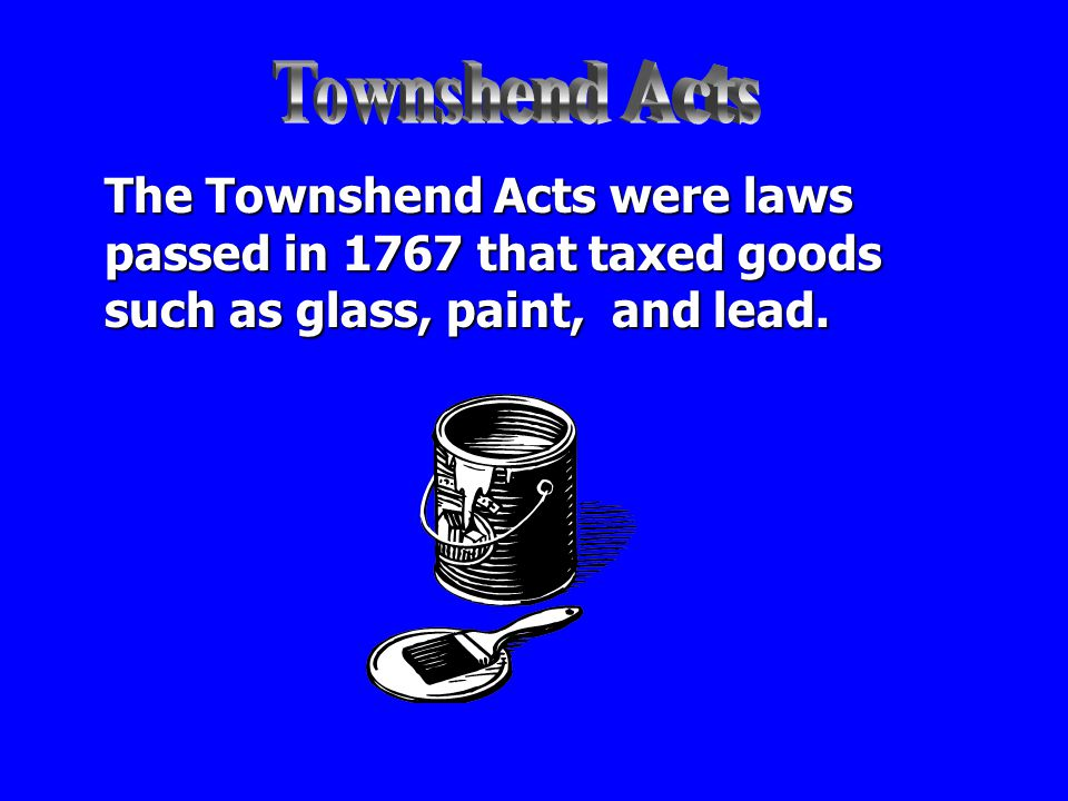 Repeal means to cancel. After colonists boycotted certain goods taxed by the British government, parliament would repeal the tax.