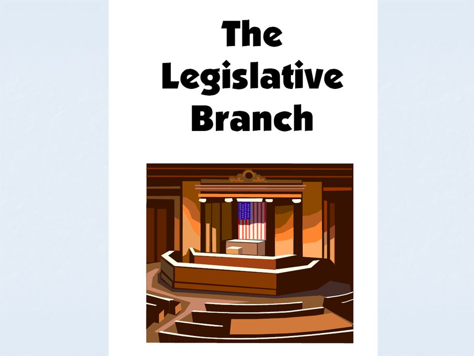 Separation of Powers Form of government organized in three branches A legislative branch (Congress) An executive branch (the President) A judicial branch (Supreme Court)