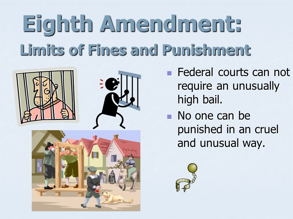 Seventh Amendment: Trial by Jury in Civil Cases Guarantees individuals the right to a jury trial in many non- criminal matters.