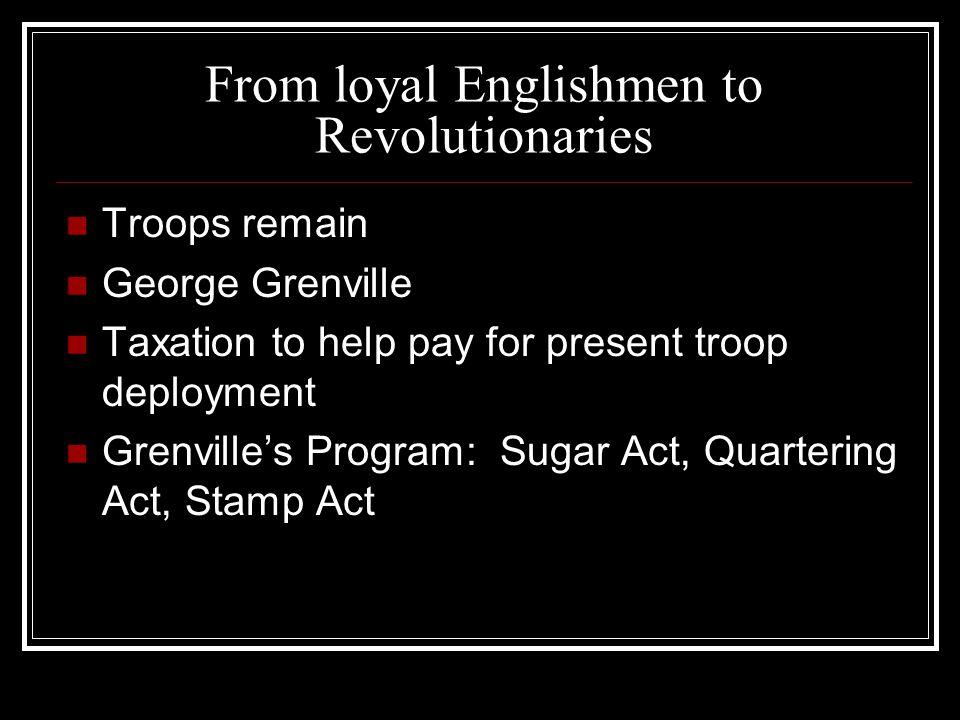 American Revolutionary War 1776-1783 May 1780 Charleston surrenders Aug.
