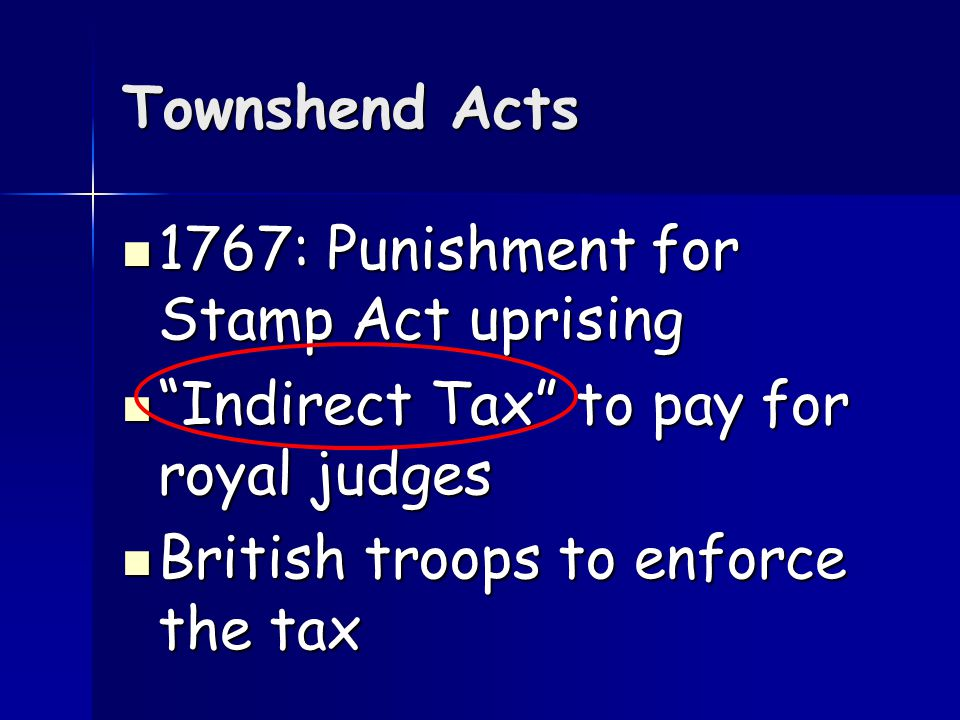 Results Declaratory Act: Parliament has the power to pass laws on the colonies Stamp Act repealed