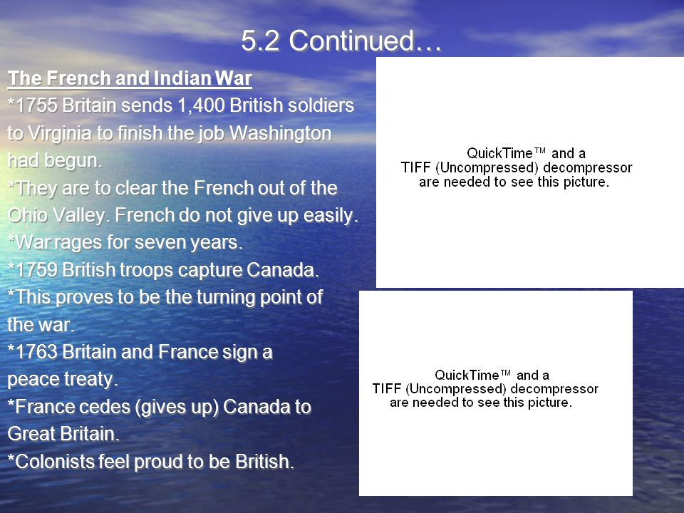 Test Prep.Which was not a major effect of the French and Indian War.