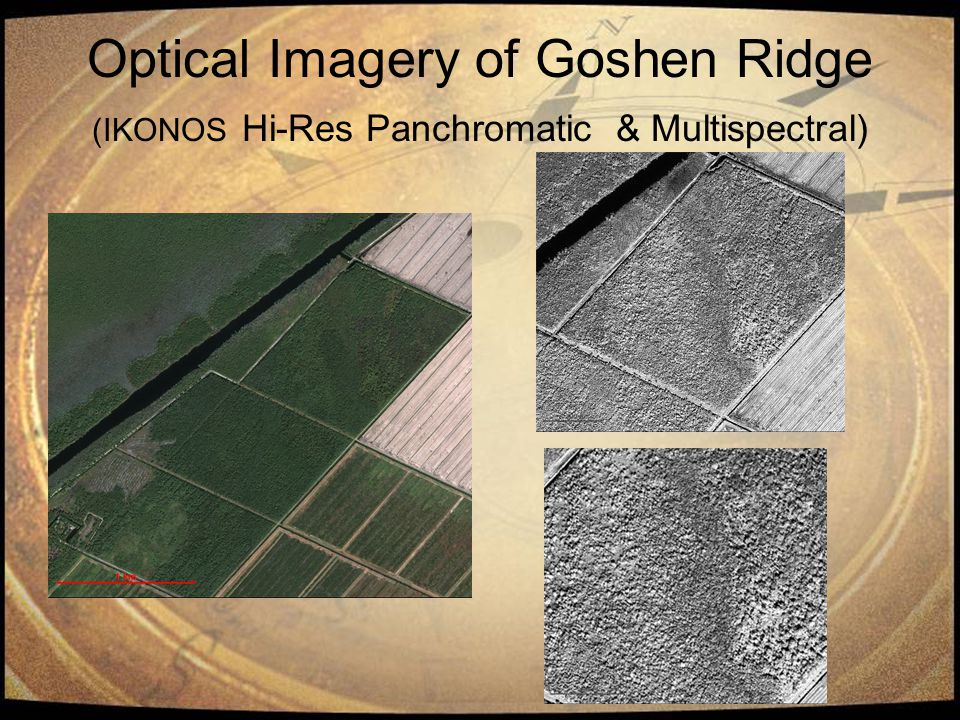 Optical Imagery of Goshen Ridge (IKONOS Hi-Res Panchromatic & Multispectral)
