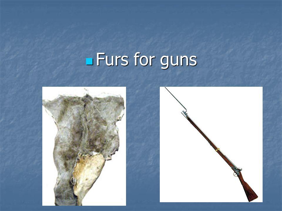 Furs for guns Furs for guns