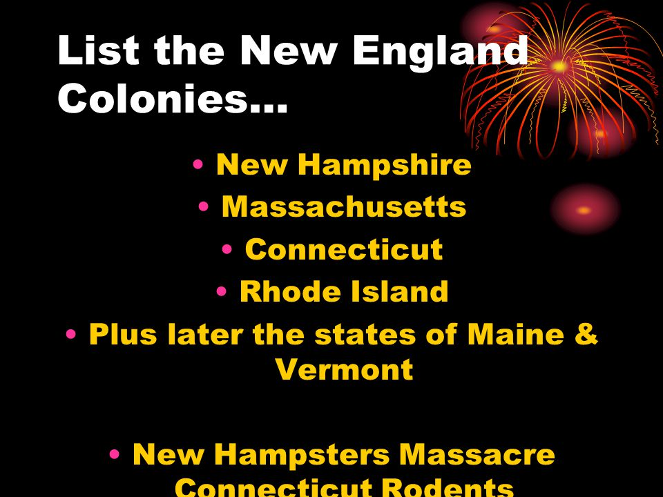 List the Southern Colonies… Maryland Virginia North Carolina South Carolina Georgia Mary Virginia Never Studies Geography